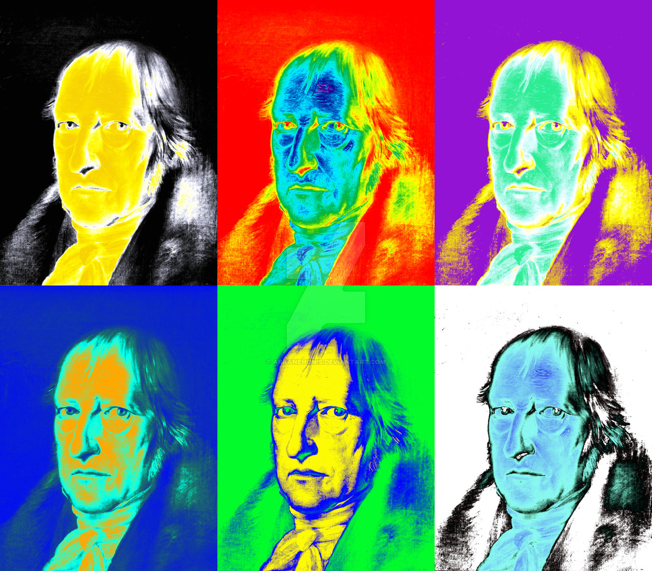 Contemporary Hegel by Arkan Ehonis, 2013-2016
